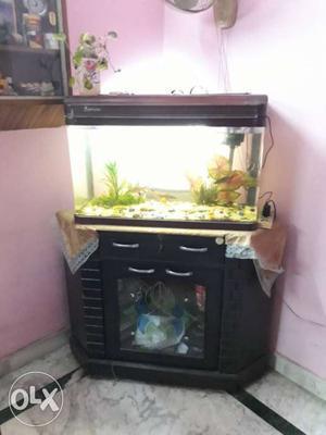 32inch aquarium corner wood