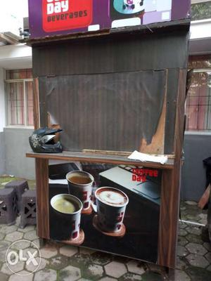 Kiosk for sale.. made of wood... 3 side open
