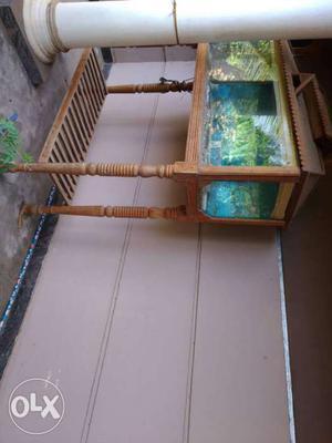 Teak wood aquarium 5 feet...