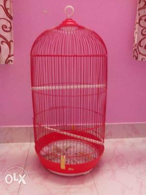 Two months old birds cage just like new. Price