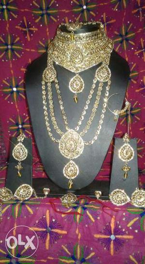 Bridal Jewellery Set..fixed price