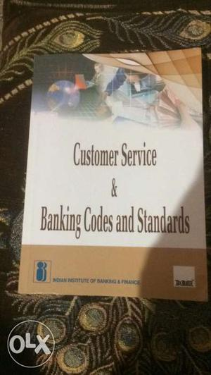Customer Service And Banking Codes And Standards Book