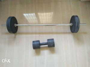 Dhumble and Exercise weight lift for sale in just