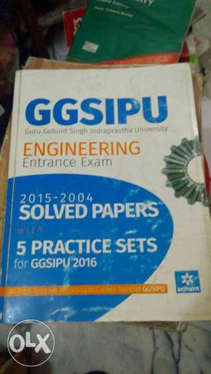 Engineering Entrance Exam Solved Papers Book