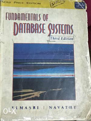 Fundamentals Of Database Systems 3rd Edition Book