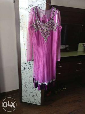 Ladies ready made suit with dupatta 3XL size