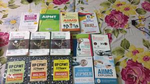 Medical entrance book set for NEET AIIMS JIPMER set of 14