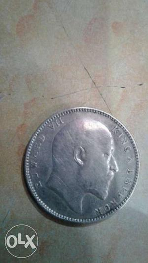 111 years old one rupees coin of india for sale