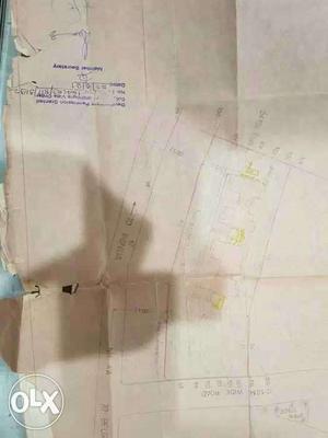 832 sq metre plot for sale. opposite to Mrf