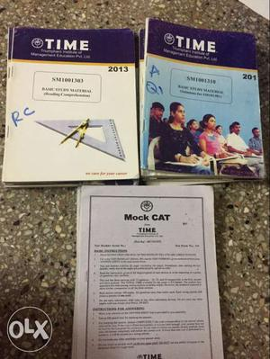 CAT Complete material set . with 9 Mock test
