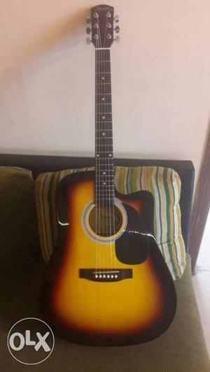 Fender Semi Acoustic Guitar - Fish man pickup. Like brand