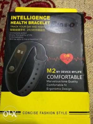 Its a new Fitness band,,,HEART RATE MONITOR used