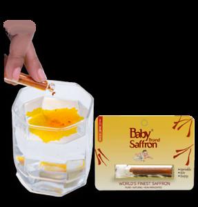 Baby Brand POWDERED Saffron (Pure Kesar) 1 gram Worlds