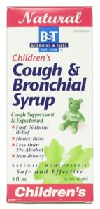 Boericke and Tafel - Childrens Cough & Bronchial Syrup - 8