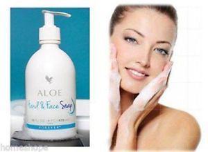 FLP Forever Living Aloe Hand & Face Soap, Cleanser (Liquid)
