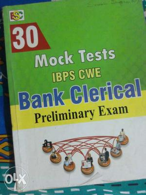 Mock Tests IBPS CWE Bank Clerical Preliminary Exam Textbook