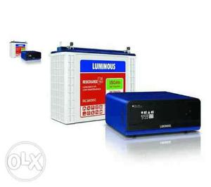 va +150ah luminous inverter &luminous tubular battery