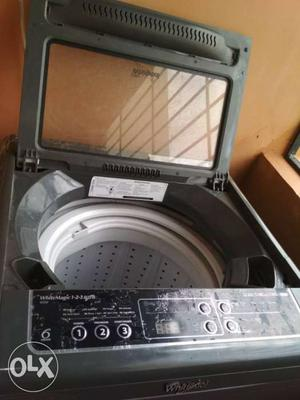 2 years old Whirlpool fully automatic top load