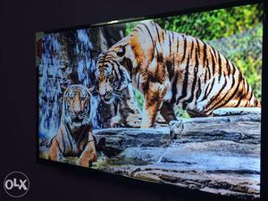 43 inch sony panel box piece android smart 4k led tv