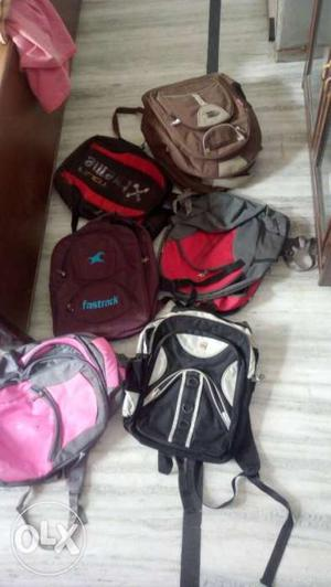 6 Colors Travel Backpacks new