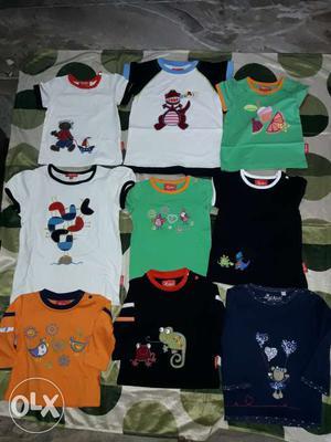 Export Surplus Kids T -shirt # 90rs,