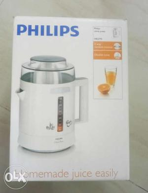 Philips citrus juicer, brand new sealed pack.