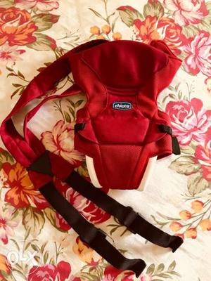 Red Chicco Baby Carrier