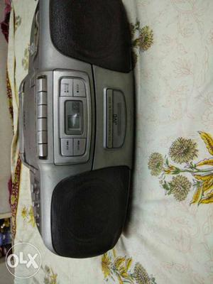 FM player with audio CD player