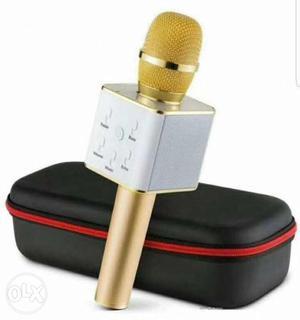 Wireless Bluetooth Karaoke Singing Mic Speaker