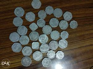 Ancient coins of india 5₹ 10ps 20ps coins