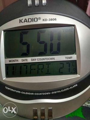 New KADIO KD - Digital Clock. Table and wall
