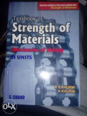 Strength of Materials Author:- RS.Khurmi,