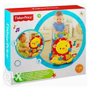 Fisher price musical lion walker- brand new