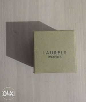 """LAURELS"" MENS wrist watch for sale in 0% usage..."