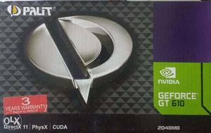 NVIDIA GT GB Graphics CARD