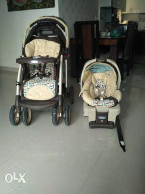 Orignal GRACO stroller nd child car seat