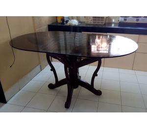 Glass dining table mumbai posot class for Best dining tables in mumbai