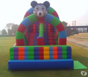 Provide bouncy on rent in delhi  Delhi