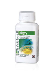 Amway NUTRILITE Salmon Omega 3 - 60 SOFTGELS - MFD:-