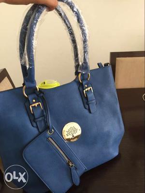 New original mulberry blue bag
