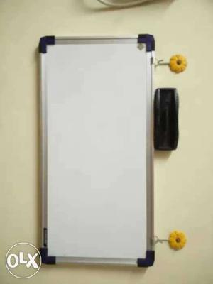 New Mini white board with duster and marker. 1.