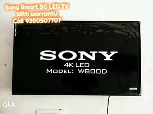 "50""Sony Smart LED TV Flat Screen Box packed With warranty"