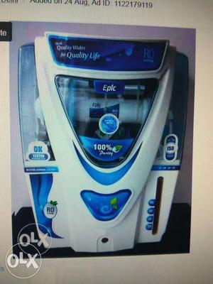 Aqua fresh water purifier with one year wrantty