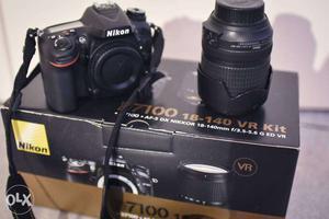 Black Nikon D DSLR Camera Body With mm Zoom Lens