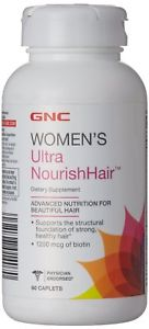 Gnc Ultra Nourish-Hair 60 Capsules( Mcg Of Biotin)