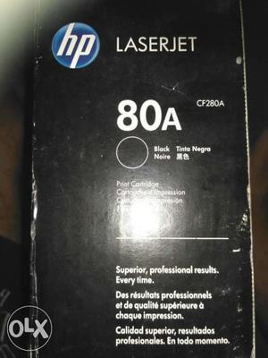 HP Laserjet cartridge Toner 80A