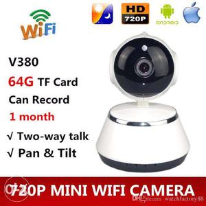 Mini WiFi IP Smart HD Camera for Security v380