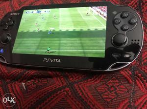 Ps vita with 16gb memory card and 50 games.games