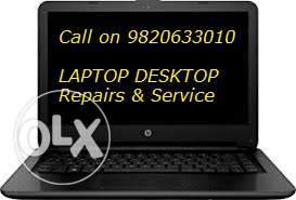 Reliable Repairs And Services n Laptop Desktop