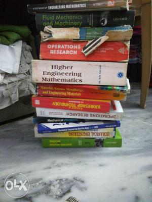 Mechanical engineering books. Eng maths,